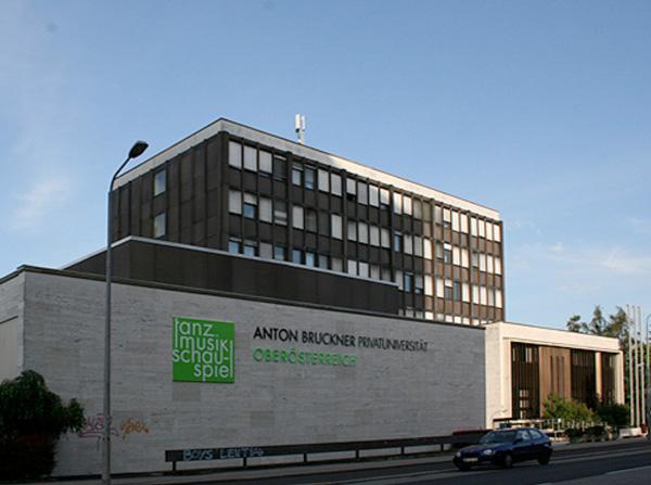 Anton Bruckner Privatuniversität an der Wildberg-Straße in Linz